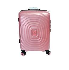 Чемодан на 4 х колесах Snowball из полипропилена малого размера Robust 91303 розовый