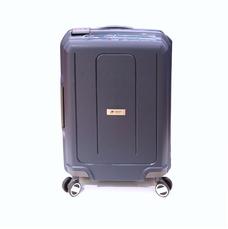 Міцна валіза з поліпропілену на защіпках середня 70 л Airtex синя