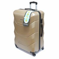 Фотографія: Большой пластиковый чемодан Carbon 110..