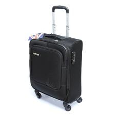Тканинна мала валіза Carlton Dover 120J457010 на 49 л, чорна