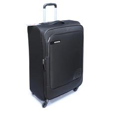 Большой чемодан на колесах из ткани Carlton Dover 120J482010 черный