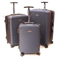 Комплект дорожніх валіз з полікарбонату 3 шт Airtex Deimos 968 синій