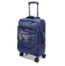 Безкаркасна валіза Airtex 55х35х20 см синя Mimas 583