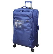 Бескаркасный чемодан Airtex 75х46х28 см 98 л синий Mimas 583