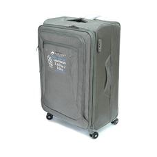 Міцна текстильна валіза великого розміру на 4-х колесах Airtex сіра