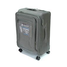 Износостойкая ткань чемодан средний 70 л, Airtex Nereide серый
