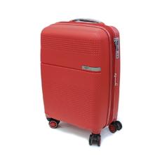 Поліпропіленова валіза для ручної поклажі 55х37х20см Airtex червона