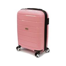 Чемодан маленький из полипропилена 55х37х20 см Airtex Newstar 232 розовый