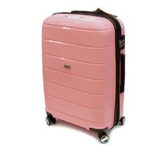 Чемодан большой 75х55х28 см 100 л из полипропилена Airtex Newstar 232 розовый