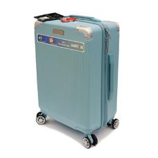 Мала пластикова валіза 40 л Airtex Diome 225 ментолова