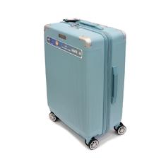 Большой чемодан из полипропилена 112 л Airtex Diome 225 ментоловый