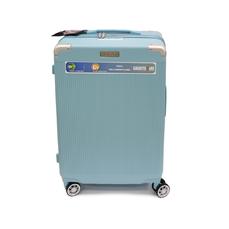 Средний чемодан из полипропилена 70 л Airtex Diomer 225 ментоловый