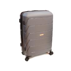 Пластикова середня валіза Snowball Robust 11803 сіра