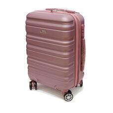 Чемодан пластиковый малый 40 л Airtex Worldline розовый